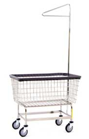 Mega-Capacity-Laundry-Cart
